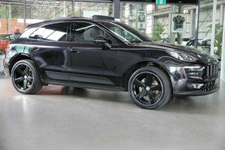 2017 Porsche Macan 95B MY18 PDK AWD Black 7 Speed Sports Automatic Dual Clutch Wagon