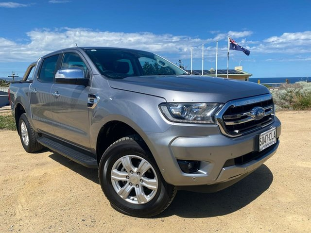 Used Ford Ranger PX MkIII 2019.00MY XLT Christies Beach, 2019 Ford Ranger PX MkIII 2019.00MY XLT Silver 10 Speed Sports Automatic Double Cab Pick Up