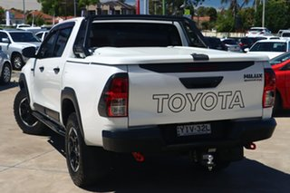 2018 Toyota Hilux GUN126R 4x4 Crystal Pearl 6 Speed Automatic Dual Cab.