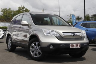 2008 Honda CR-V RE MY2007 Luxury 4WD Champagne 5 Speed Automatic Wagon.