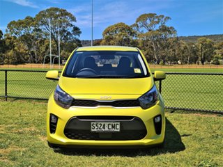2021 Kia Picanto JA MY22 S Lime Green 4 Speed Automatic Hatchback