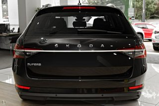 2021 Skoda Superb NP MY21 162TSI DSG Style Black 6 Speed Sports Automatic Dual Clutch Wagon.