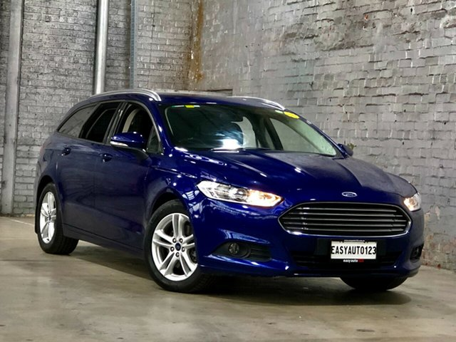Used Ford Mondeo MD Ambiente Mile End South, 2015 Ford Mondeo MD Ambiente Blue 6 Speed Sports Automatic Dual Clutch Wagon