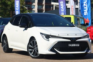 2020 Toyota Corolla Mzea12R ZR White Continuous Variable Hatchback.