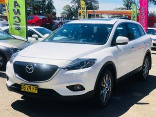 2015 Mazda CX-9 TB10A5 Grand Touring Activematic AWD White 6 Speed Sports Automatic Wagon.