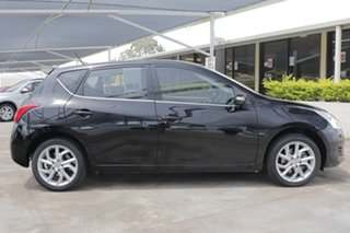 2013 Nissan Pulsar C12 ST-S Black 6 Speed Manual Hatchback.
