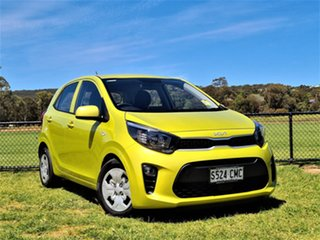 2021 Kia Picanto JA MY22 S Lime Green 4 Speed Automatic Hatchback.