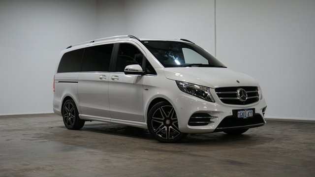 Used Mercedes-Benz V-Class 447 V250 d 7G-Tronic + Avantgarde Welshpool, 2017 Mercedes-Benz V-Class 447 V250 d 7G-Tronic + Avantgarde White 7 Speed Sports Automatic Wagon
