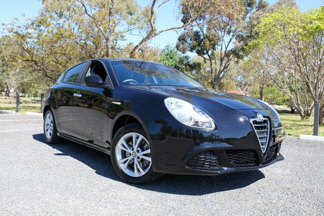 Used Alfa Romeo Giulietta Series 0 MY13 Progression Lonsdale, 2013 Alfa Romeo Giulietta Series 0 MY13 Progression Black 6 Speed Manual Hatchback