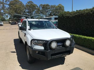 2017 Ford Ranger PX MkII XL White 6 speed Automatic Cab Chassis.
