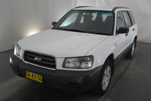 Used Subaru Forester 79V MY04 X AWD Maryville, 2004 Subaru Forester 79V MY04 X AWD White 5 Speed Manual Wagon