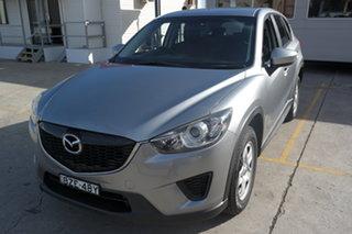 2014 Mazda CX-5 KE1071 MY14 Maxx SKYACTIV-MT Silver 6 Speed Manual Wagon.