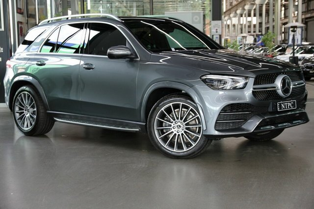Used Mercedes-Benz GLE-Class V167 800+050MY GLE400 d 9G-Tronic 4MATIC North Melbourne, 2020 Mercedes-Benz GLE-Class V167 800+050MY GLE400 d 9G-Tronic 4MATIC Grey 9 Speed Sports Automatic