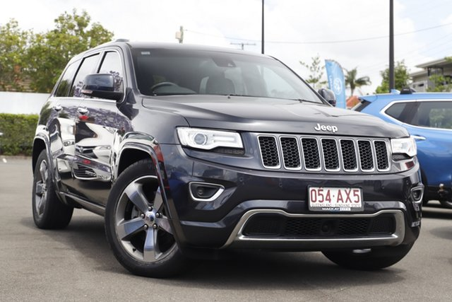 Used Jeep Grand Cherokee WK MY15 Overland Mount Gravatt, 2015 Jeep Grand Cherokee WK MY15 Overland Grey 8 Speed Sports Automatic Wagon