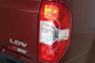 2017 LDV T60 SK8C Luxe Maroon 6 Speed Sports Automatic Utility