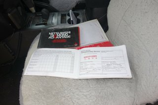 2010 Mitsubishi Pajero NT MY10 Activ White 5 Speed Sports Automatic Wagon