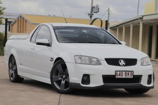 2012 Holden Ute VE II SV6 Thunder White 6 Speed Sports Automatic Utility.