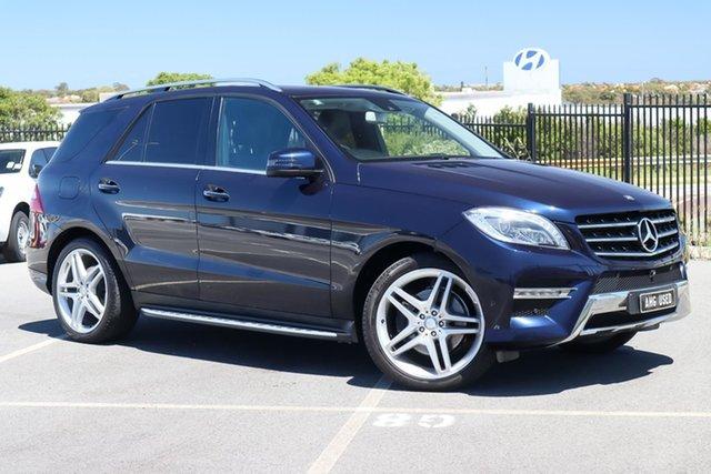 Used Mercedes-Benz M-Class W166 MY805 ML250 BlueTEC 7G-Tronic + Wangara, 2014 Mercedes-Benz M-Class W166 MY805 ML250 BlueTEC 7G-Tronic + Blue 7 Speed Sports Automatic Wagon