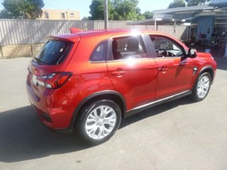 2020 Mitsubishi ASX XD MY20 ES 2WD Red 1 Speed Constant Variable Wagon.