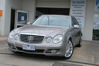 2007 Mercedes-Benz E350 211 MY07 Upgrade Avantgarde Silver 7 Speed Automatic G-Tronic Sedan.