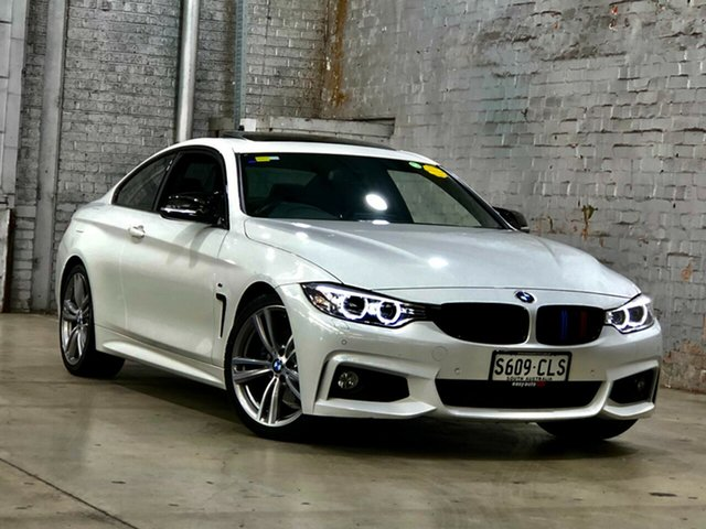 Used BMW 4 Series F32 428i Sport Line Mile End South, 2013 BMW 4 Series F32 428i Sport Line White 8 Speed Sports Automatic Coupe