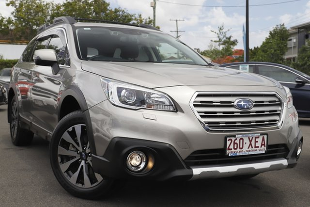 Used Subaru Outback B6A MY17 2.5i CVT AWD Premium Mount Gravatt, 2017 Subaru Outback B6A MY17 2.5i CVT AWD Premium Gold 6 Speed Constant Variable Wagon
