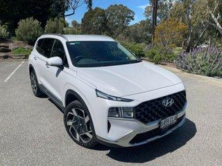 2021 Hyundai Santa Fe Tm.v3 MY21 Elite DCT Glacier White 8 Speed Sports Automatic Dual Clutch Wagon.