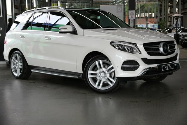 Used Mercedes-Benz GLE-Class W166 808MY GLE350 d 9G-Tronic 4MATIC North Melbourne, 2017 Mercedes-Benz GLE-Class W166 808MY GLE350 d 9G-Tronic 4MATIC White 9 Speed Sports Automatic