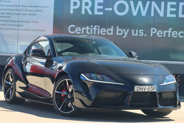 Pre-Owned Toyota Supra J29 GR GTS Guildford, 2019 Toyota Supra J29 GR GTS Bathurst Black 8 Speed Sports Automatic Coupe