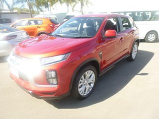 2020 Mitsubishi ASX XD MY20 ES 2WD Red 1 Speed Constant Variable Wagon