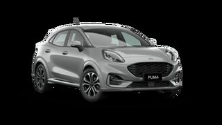 2021 Ford Puma JK 2021.75MY ST-Line Solar Silver 7 Speed Sports Automatic Dual Clutch Wagon