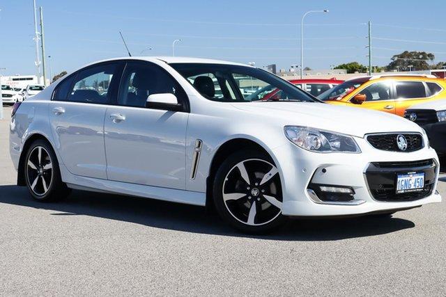 Used Holden Commodore VF II MY17 SV6 Wangara, 2017 Holden Commodore VF II MY17 SV6 White 6 Speed Sports Automatic Sedan