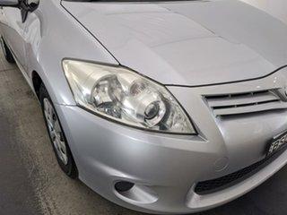 2009 Toyota Corolla ZRE152R Ascent Silver 6 Speed Manual Sedan.
