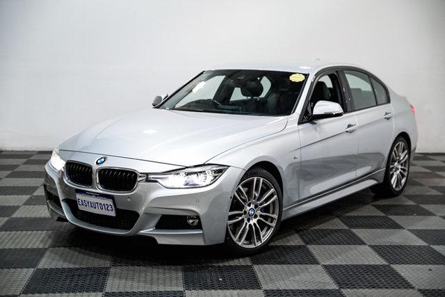Used BMW 320i F30 LCI M Sport Edgewater, 2015 BMW 320i F30 LCI M Sport Silver 8 Speed Automatic Sedan