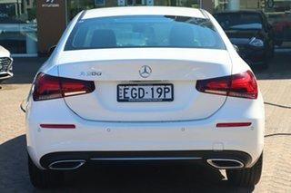 2019 Mercedes-Benz A200 V177 MY20 A200 White Automatic Sedan