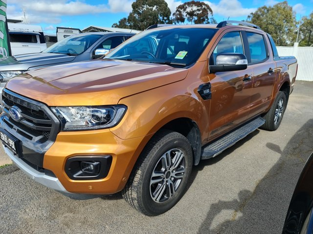 Used Ford Ranger PX MkIII 2020.25MY Wildtrak Epsom, 2020 Ford Ranger PX MkIII 2020.25MY Wildtrak Saber 6 Speed Sports Automatic Double Cab Pick Up