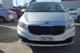 2015 Kia Carnival YP MY15 Platinum Silver, Chrome 6 Speed Sports Automatic Wagon