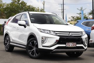 2018 Mitsubishi Eclipse Cross YA MY18 LS 2WD Clear White 8 Speed Constant Variable Wagon.
