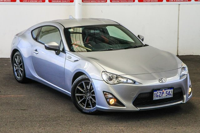Pre-Owned Toyota 86 ZN6 MY15 GT Myaree, 2015 Toyota 86 ZN6 MY15 GT Ice Silver 6 Speed Auto Sequential Coupe