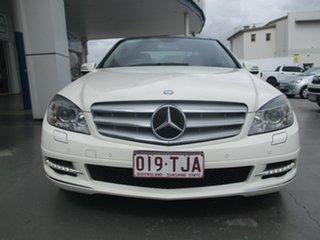 2011 Mercedes-Benz C250 W204 MY10 Upgrade CGI Avantgarde White 5 Speed Automatic Tipshift Wagon