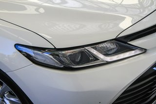 2018 Toyota Camry AXVH71R Ascent (Hybrid) Glacier White Continuous Variable Sedan