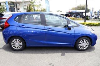 2016 Honda Jazz GF MY16 VTi Blue 5 Speed Manual Hatchback.