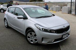2016 Kia Cerato YD MY17 S Silver 6 Speed Sports Automatic Hatchback.