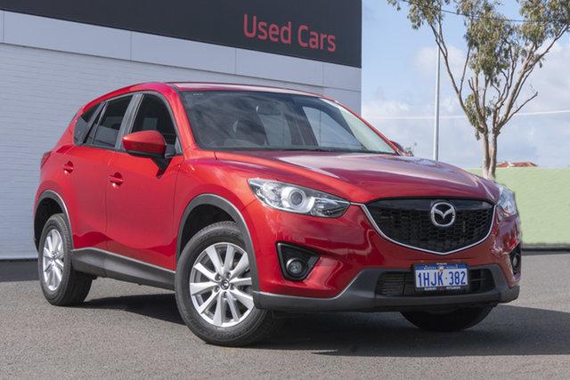 Used Mazda CX-5 KE1021 MY14 Maxx SKYACTIV-Drive AWD Sport Bunbury, 2014 Mazda CX-5 KE1021 MY14 Maxx SKYACTIV-Drive AWD Sport Red 6 Speed Sports Automatic Wagon