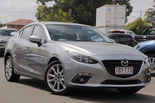2014 Mazda 3 BM5236 SP25 SKYACTIV-MT Silver 6 Speed Manual Sedan.