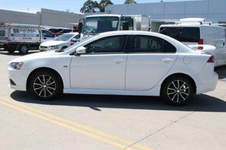 2014 Mitsubishi Lancer CJ MY15 ES Sport White 6 Speed Constant Variable Sedan