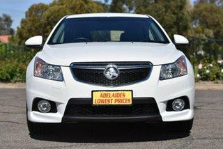 2014 Holden Cruze JH Series II MY14 SRi Z Series White 6 Speed Manual Hatchback.