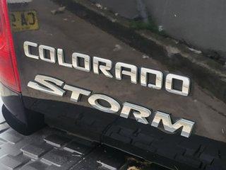 2016 Holden Colorado RG MY16 Storm Crew Cab Black 6 Speed Sports Automatic Utility.
