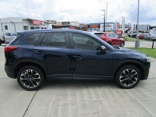 2015 Mazda CX-5 KE1022 Akera SKYACTIV-Drive AWD Dark Blue 6 Speed Sports Automatic Wagon