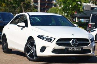 2019 Mercedes-Benz A200 V177 MY20 A200 White Automatic Sedan.